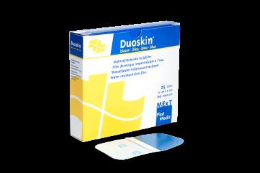 Duoskin blauw, waterafstotende huidfilm (10x6cm)