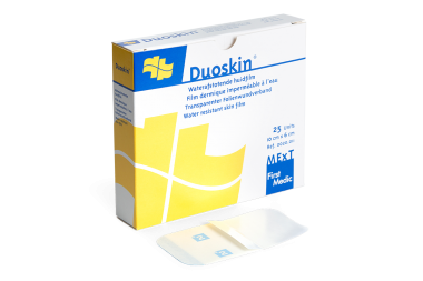 Duoskin, waterafstotende huidfilm