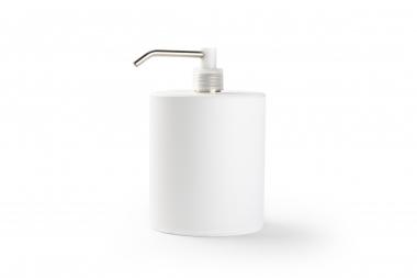 Hervulbare dispenserfles wit (900 ml)