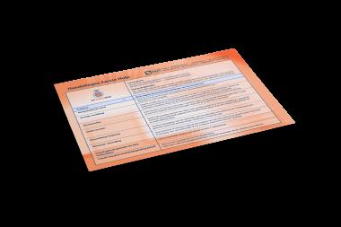 Hulpkaart Oranje Kruis