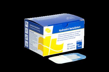 Hydroskin Metaldetect, blauwe waterdichte Hydrogelpleister